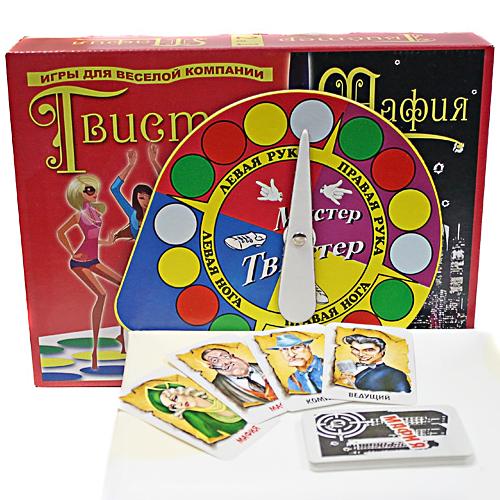 Набор игр Твистер+мафия
