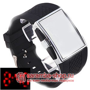 89ca560f LED-часы «Зеркало», цифровые кварцевые - Бинарные LED часы наручные ...